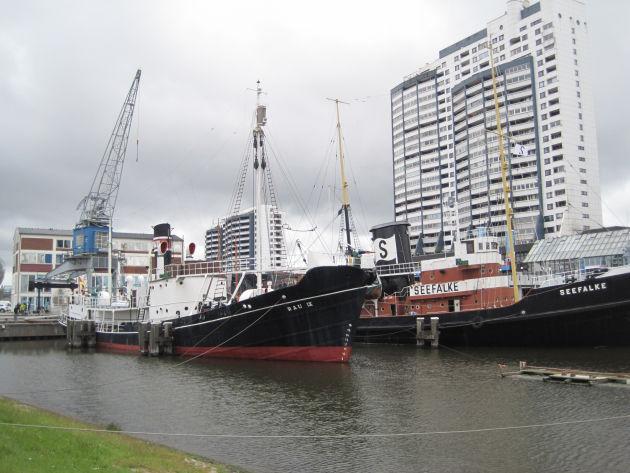 Der Museumshaven in Bremerhaven