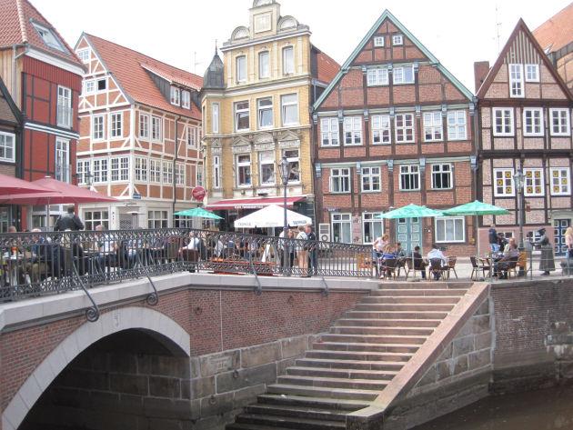 Die wunderschöne (!!!) Altstadt von Stade