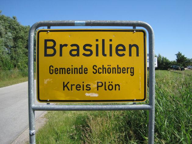 ... und nach Brasilien ist es dann auch nicht mehr weit.