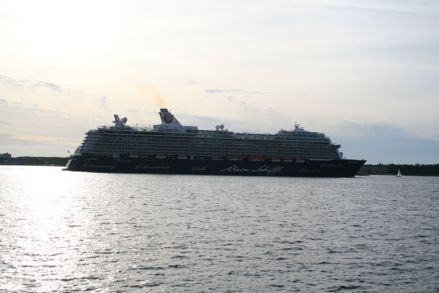Die »Mein Schiff 4« auf dem Weg in die Ostsee