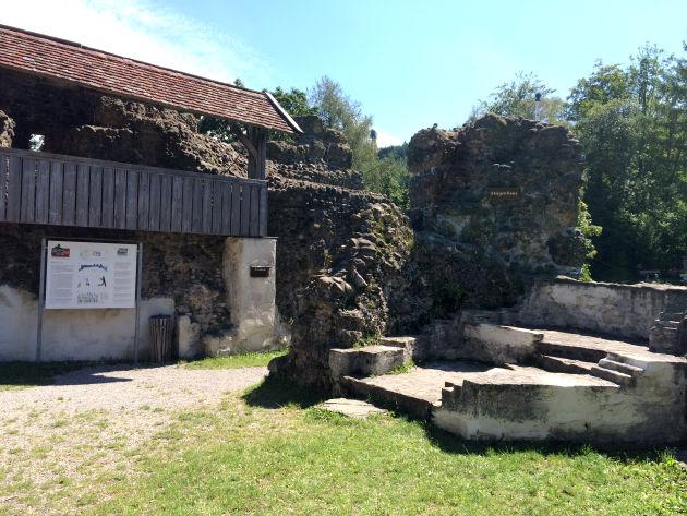 Anfang der 90er Jahre des letzten Jahrhunderts wurde sie aufwendig restauriert.