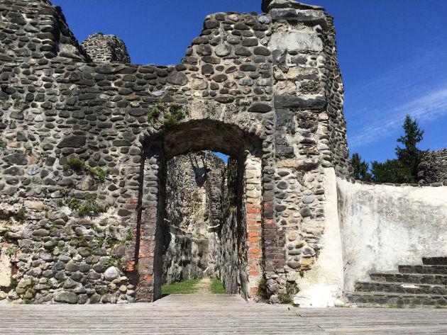 Die Alttrauchburg wurde im 13. Jahrhundert erbaut.