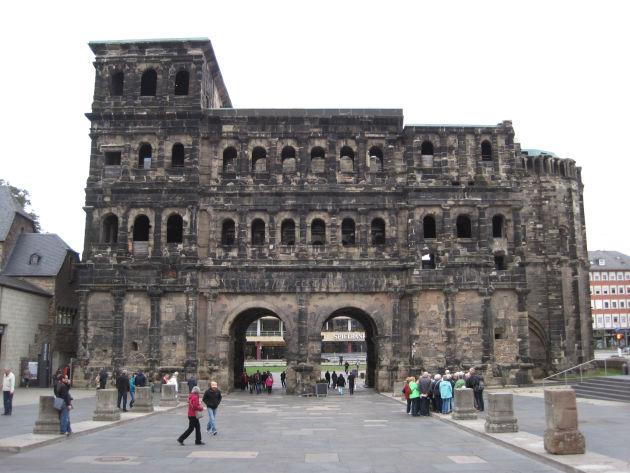 Die berühmte Porte Nigra