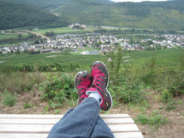 Wanderung über Bernkastel-Kues und Zeltingen