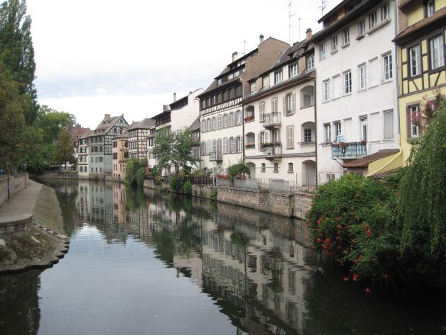Auch das ist Straßburg: Idylle pur