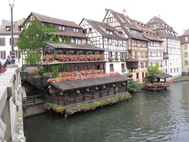 Idyllisches Straßburg