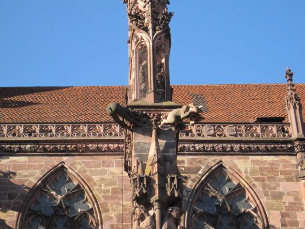 S'Ärschle am Freiburger Münster