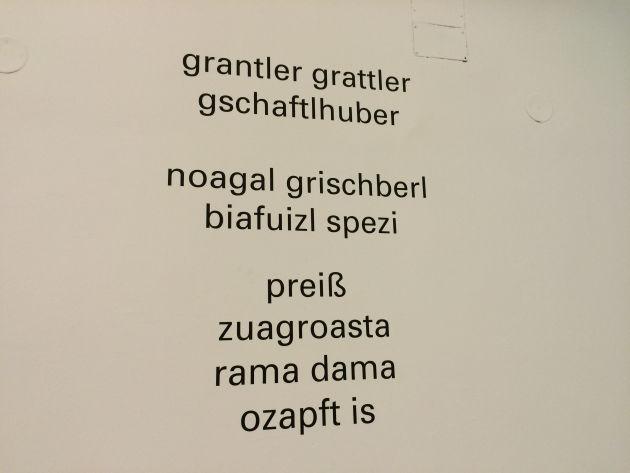 Münchner Dialekte