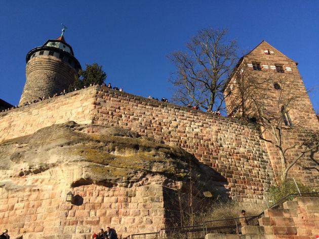 Das Wahrzeichen der Stadt Nürnberg: die »Kaiserburg«