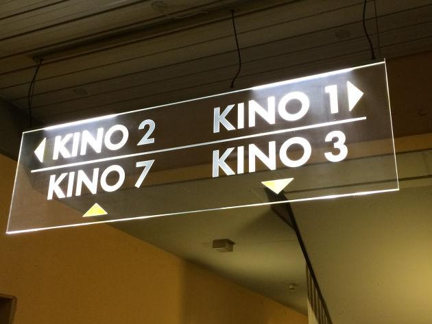 Das Kemptener Kino hat mehrere Säle - uns verschlug es dieses Mal ins Kino 3