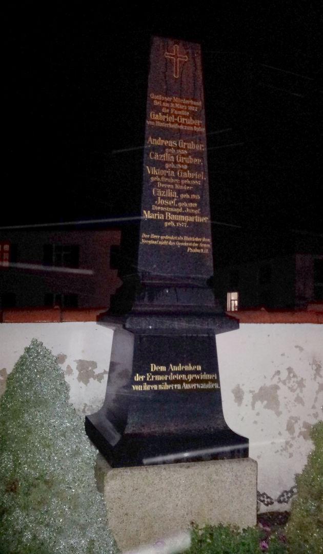 Grabstätte der Familie Gruber