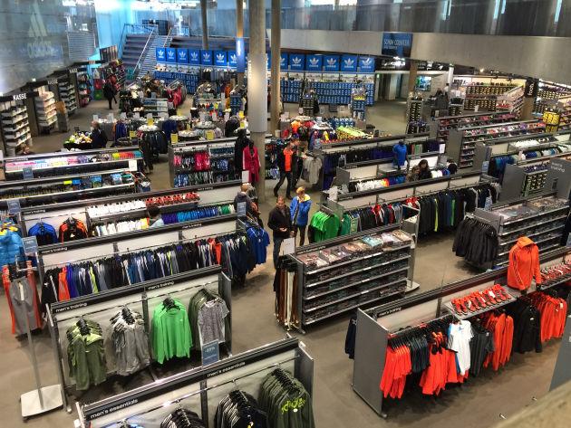 Eldorado für Sportfans: Adidas