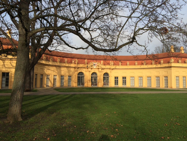 Orangerie im Schlossgarten von Erlangen