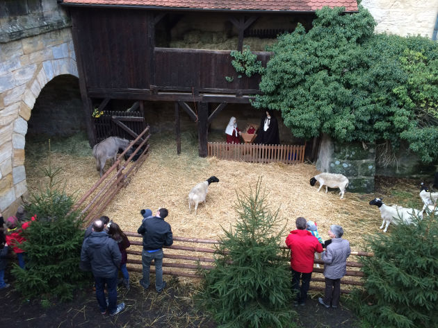 Weihnachtskrippe in Forchheim