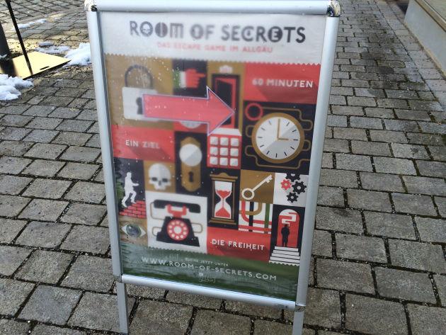 Unser zweiter Besuch im »Room of Secrets«