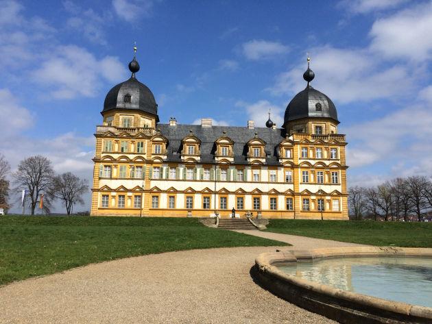 Unser Fahrradausflug führte uns zum hübschen Schloss Seehof
