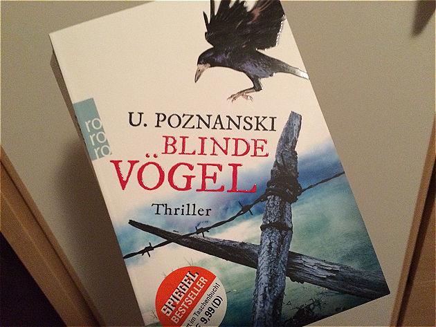 Heutige Buchrezension: »Blinde Vögel« von Ursula Poznanski