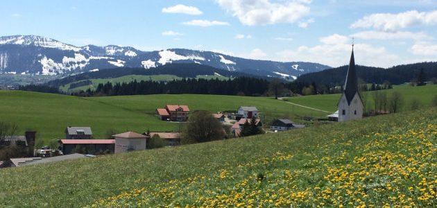 E-Bike-Tour vom Oberallgäu ins Westallgäu