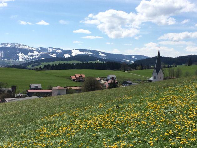 Blick über Stiefenhofen