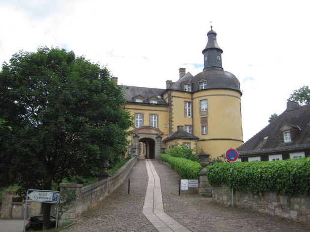 In Bad Wildungen steht auch das Schloss Friedrichstein.