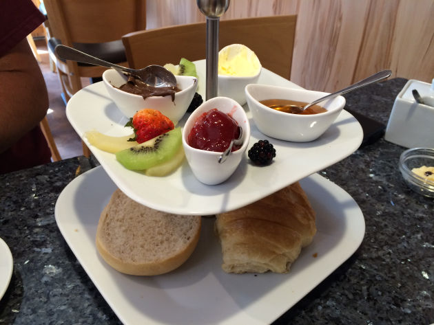 Das Frühstück in der Bäckerei Lingemann in Bochum
