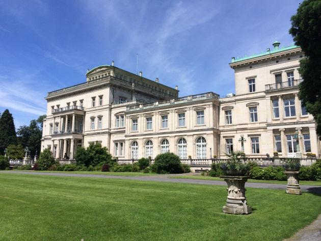 Die Villa Hügel von Krupp ist ebenfalls ein Highlight im Ruhrpott.