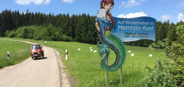 E-Bike-Tour – Alter Bahndamm nach Kempten