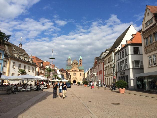 Auf dem Rückweg machten wir Station in Speyer