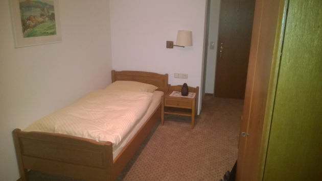 Christians Hotelzimmer in Borke