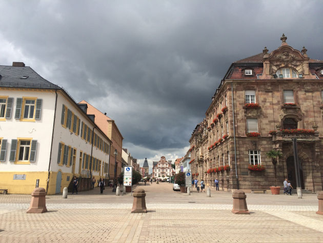 Auf dem Weg zu Podstock 2016 machten wir in Speyer halt.