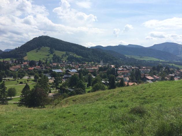 Kleiner Spaziergang oberhalb von Oberstaufen
