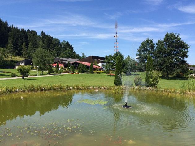Kurpark in Oberstaufen