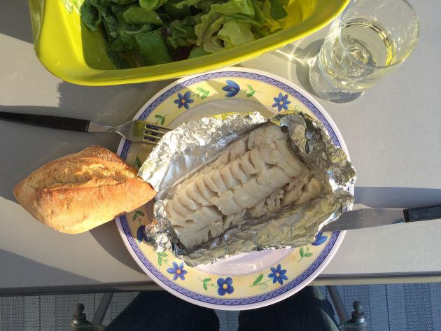 Frischer Fisch auf den Grill - leckaaaaaa!