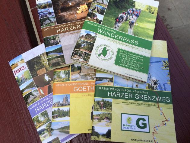 Die Sammelhefte der Harzer Wandernadel