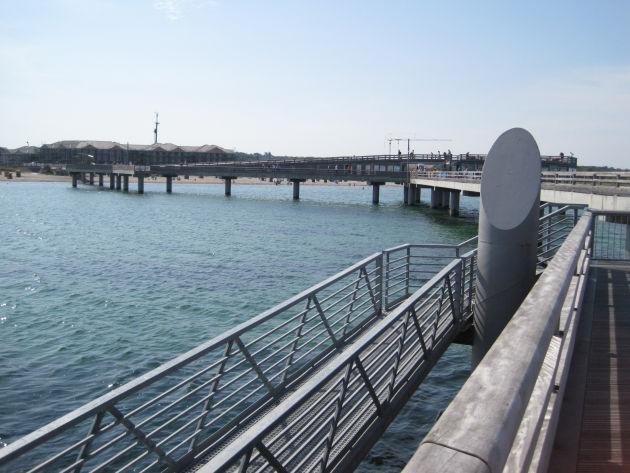Die Erlebnisbrücke in Heiligenhafen