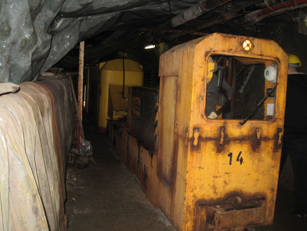Die Führung mit der Grubenbahn im Erzbergwerk Rammelsberg ist sein Geld wert