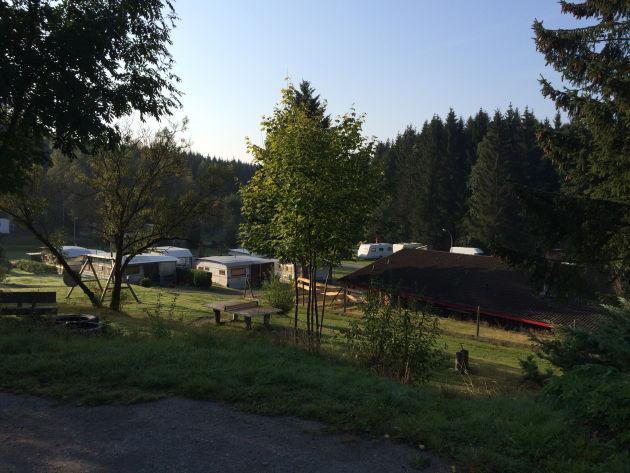 Weiter ging es zum Campingplatz Braunlage im Harz