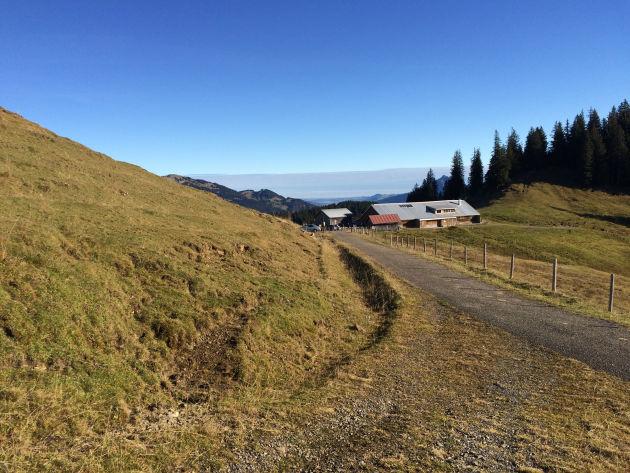 Startpunkt: Hölleritzeralpe