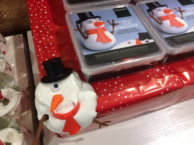 Magischer Schneemann. Was kann das?
