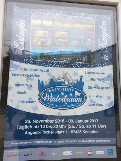 Kemptener Weihnachtstraum am Forum Allgäu
