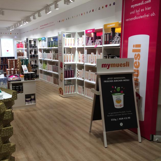 Der neue MyMüsli-Shop im Forum Allgäu