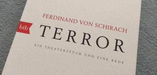 Terror – Ferdinand von Schirach (Buchrezension)