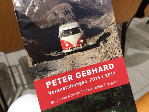 Der Vortrag von Peter Gebhard: »Bulli - von Istanbul ans Nordkap«