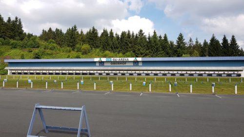 Bild: Biathlon-Anlage in Oberhof