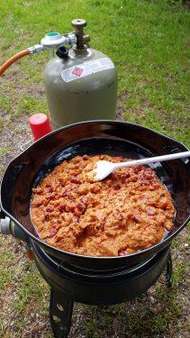 Bild - Chili con carne im Topf