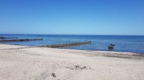 Bild uebers Meer in der Hohwachter Bucht