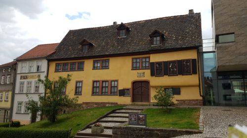 Bild - Blick aufs Bachhaus in Eisenach