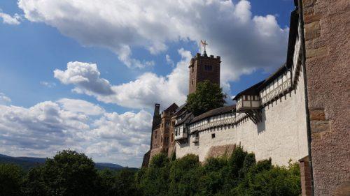 Bild: Die Wartburg bei Eisenach