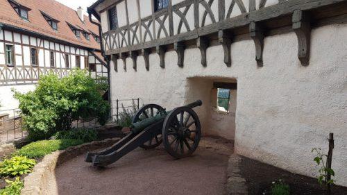 Bild: Der Innenhof der Wartburg in Eisenach