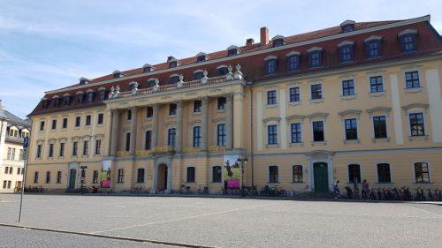 Bild: Hausansicht in Weimar